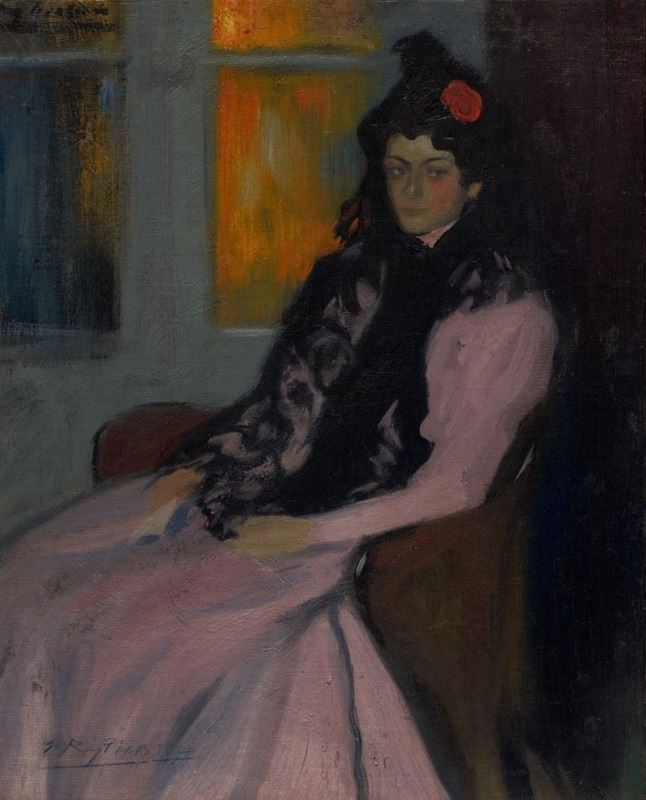 Sanatçının Kızkardeşi Lola, 1899-1900 resmi