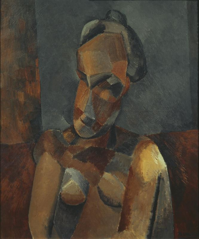 Picture for Bust of a Woman, 1909