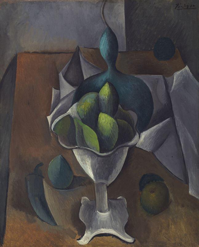 Meyve Tabağı, 1908-1909 resmi