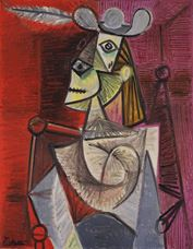 Show Woman in an Armchair, 1941 details