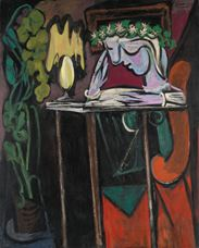 Show Reading at a Table, 1934 details