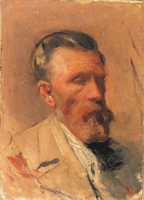 Sanatçının Babası, 1896 resmi