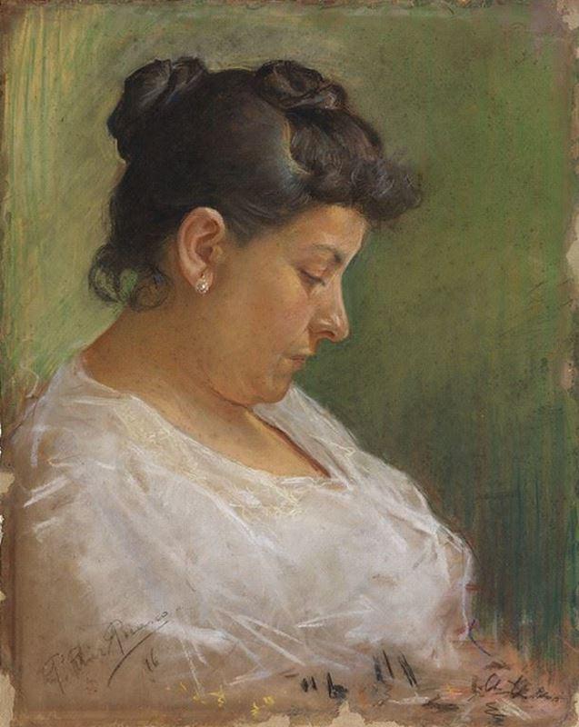 Sanatçının Annesi, 1896 resmi