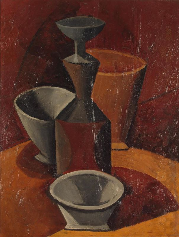 Picture for Pitcher and Bowls, 1908