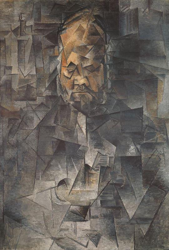Ambroise Vollard'ın Portresi, 1910 resmi