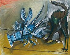 Show Lobster and Cat, 1965 details