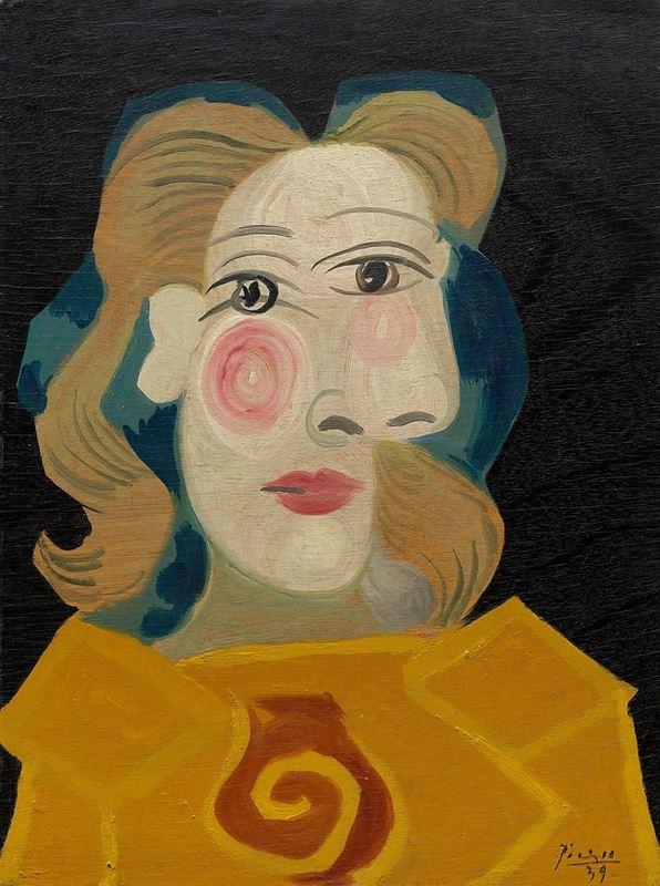 Kadın Başı (Dora Maar), 1939 resmi