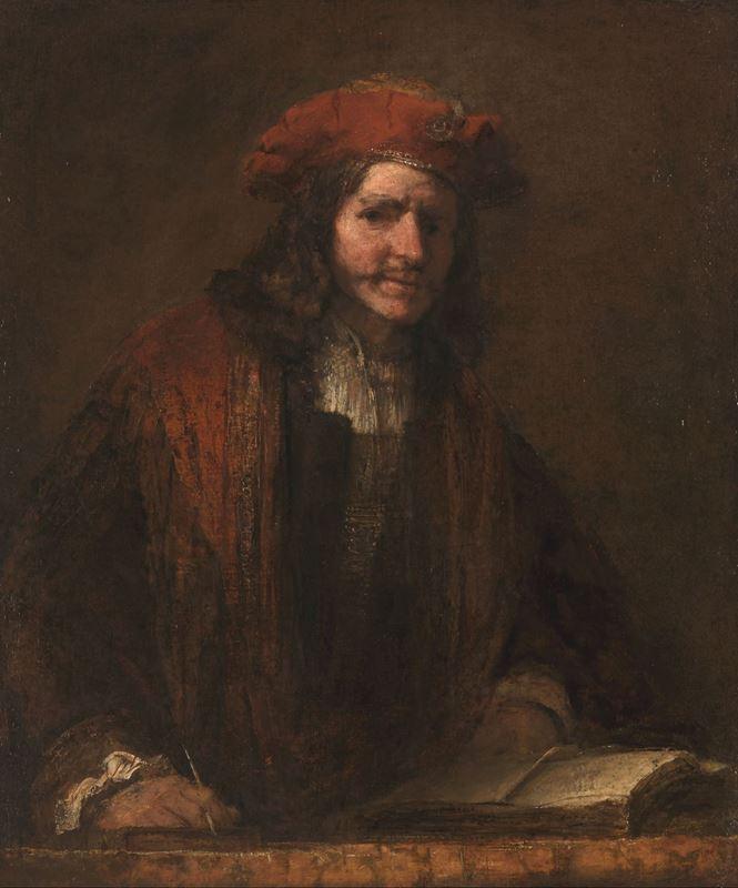 Kırmızı Şapkalı Adam, 1660 dolayları resmi