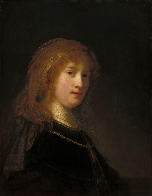 Saskia van Uylenburgh, 1634-1640 resmi