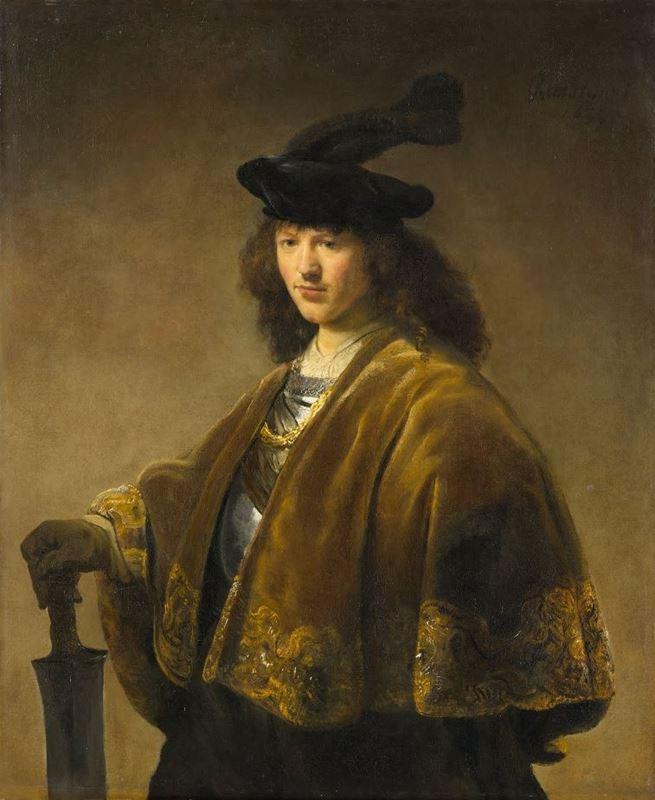 Kılıçlı Genç Adam, 1633-1645 resmi