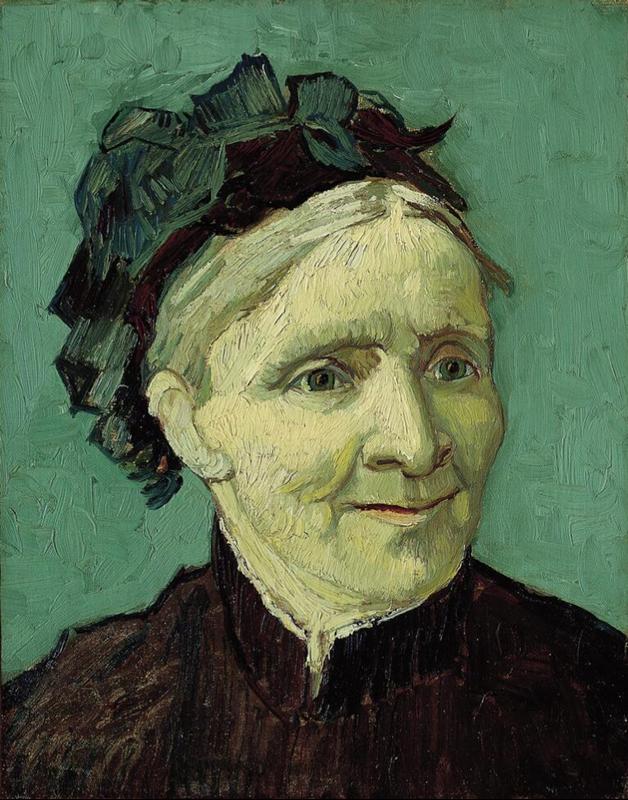 Sanatçının Annesinin Portresi, 1888 resmi