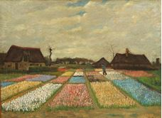 Show Flower Beds in Holland, 1883 details