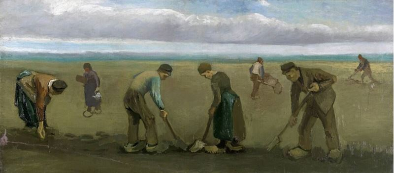 Picture for Peasants Planting Potatoes, 1884