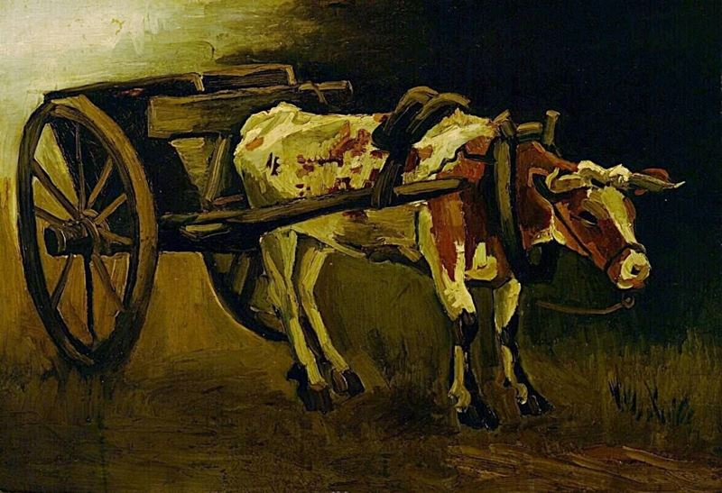 Picture for Oxcart, 1884