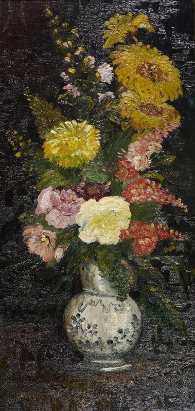Vazoda Çiçekler, 1886 resmi