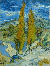 Show The Poplars at Saint-Rémy, 1889 details