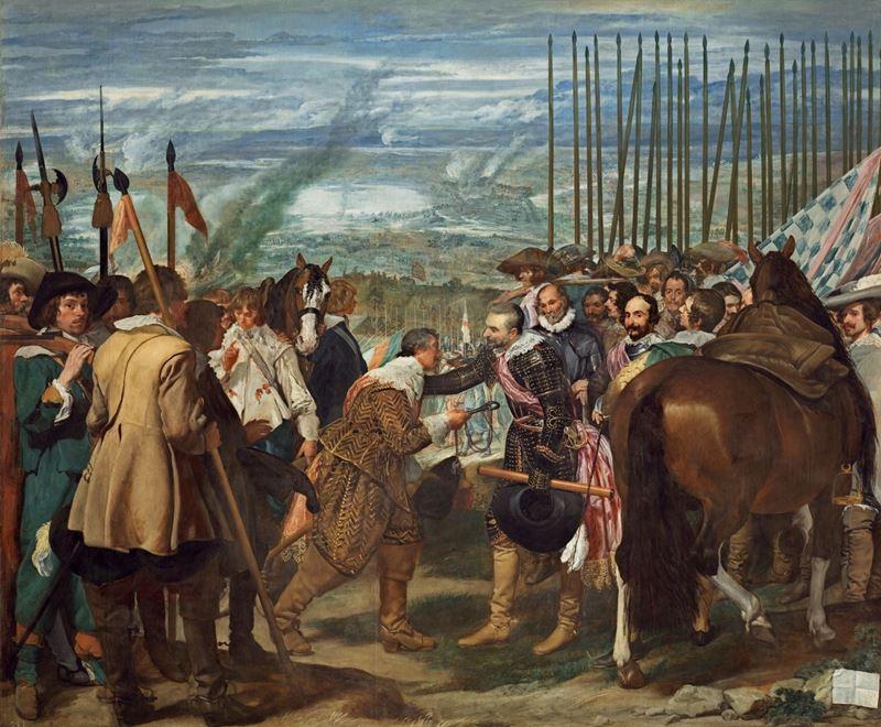 Breda'nın Teslimi (Mızraklar), 1635 dolayları resmi