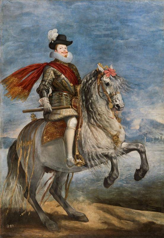 III. Felipe At Sırtında, 1635 dolayları resmi