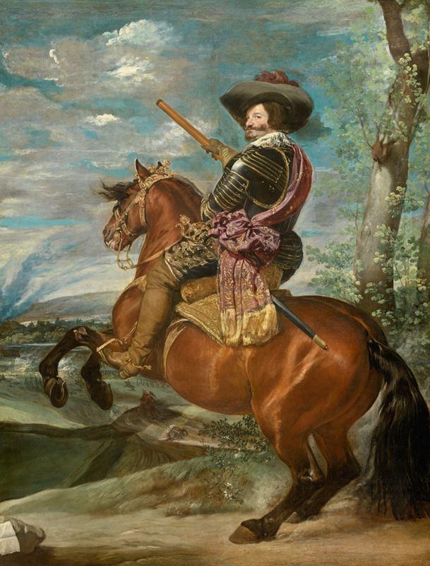 Kont-Dük Olivares At Sırtında, 1636 dolayları resmi