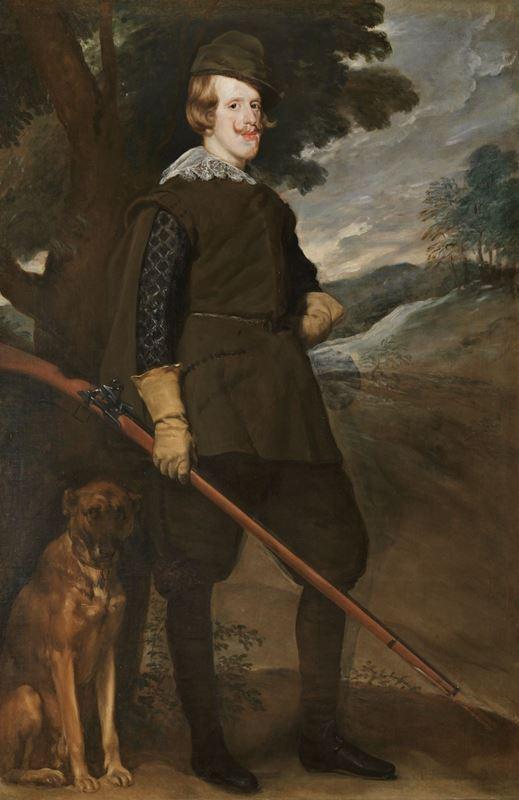 IV. Felipe Av Giysileriyle, 1632-1634 resmi