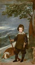 Show Prince Baltasar Carlos in Hunting Dress, 1635-1636 details