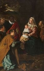 Show The Adoration of the Magi, 1619 details