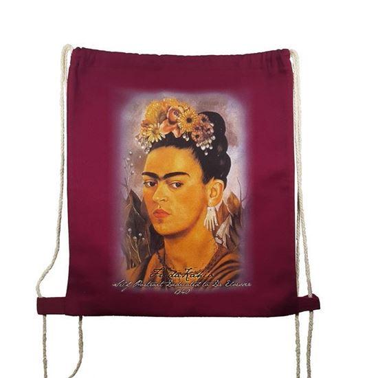Frida Kahlo - Otoportre - Çanta