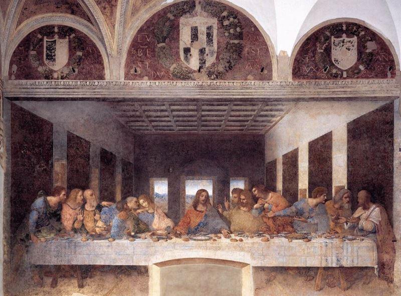 Son Akşam Yemeği, 1495-1498 dolayları,