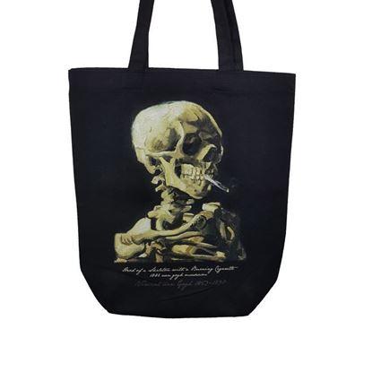 Van Gogh - Sigara İçen Kafatası - Çanta