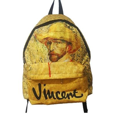 Van Gogh - Hasır Şapkalı Otoportre - Çanta