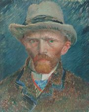 Show Self-Portrait, 1887 details
