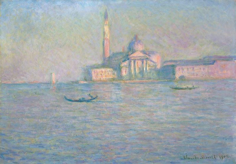 San Giorgio Maggiore Kilisesi, Venedik, 1908 resmi
