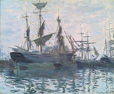 Bir Limanda Gemiler, 1873 dolayları