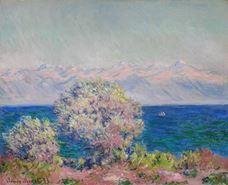 Antibes Tepeleri, Mistral, 1888