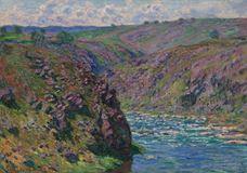 Creuse Vadisi, Güneş Işığı Etkisi, 1889