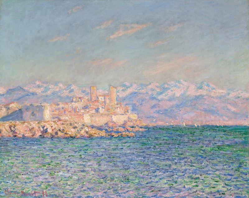 Antibes, Öğleden Sonra Etkisi, 1888 resmi