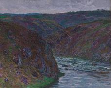 Show Valley of the Creuse (Gray Day), 1889 details