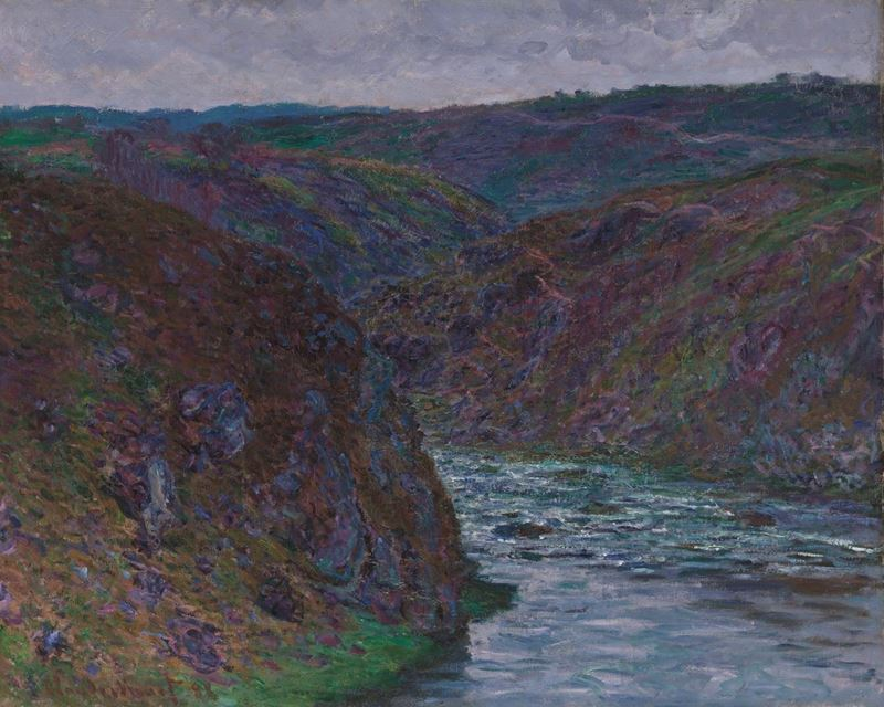 Picture for Valley of the Creuse (Gray Day), 1889