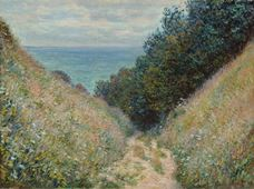 Show Road at La Cavée, Pourville, 1882 details