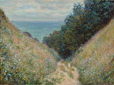La Cavée, Pourville'deki Yol, 1882