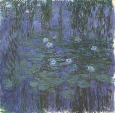 Show Blue Water Lilies, 1916-1919 details