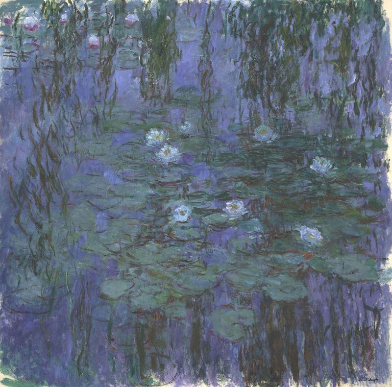 Mavi Nilüferler, 1916-1919 resmi