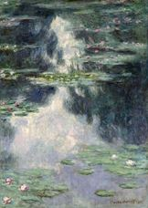 Show Pond with Water Lilies, 1907 details