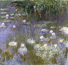Show Water Lilies, 1922 details