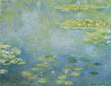 Show Water Lilies, c.1906 details