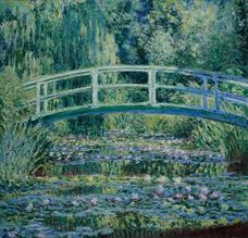 Show Water Lilies and Japanese Bridge, 1899 details