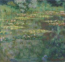 Show The Water Lily Pond, 1904 details