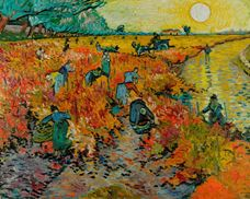 Show The Red Vineyard, 1888 details