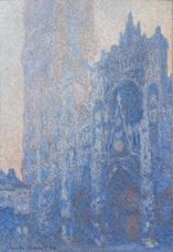 Show Rouen Cathedral Façade and Tour d'Albane (Morning Effect), 1894 details