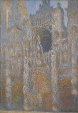 Rouen Katedrali, Güneş Işığında Cephe, 1892-1893 dolayları